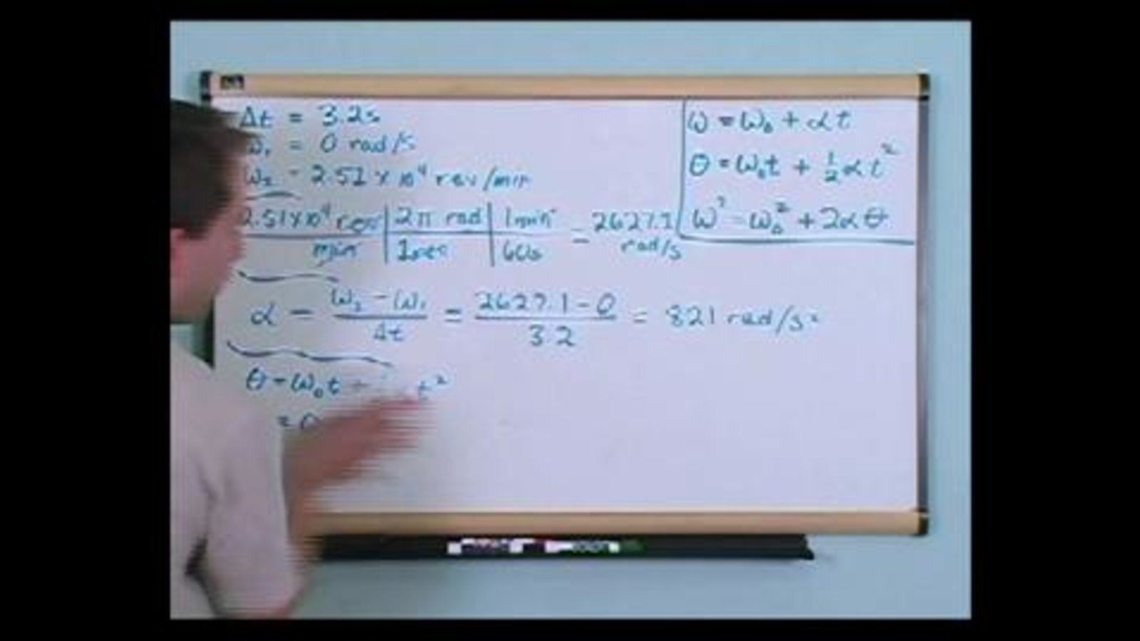 Rotational Equations Of Motion