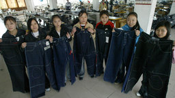 China Blue - Life in a Chinese Garment Factory