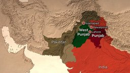 West and East Pakistan